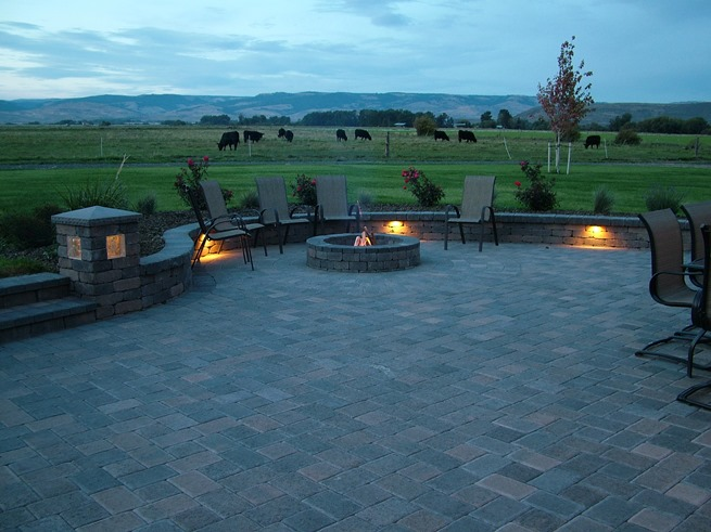 Ellensburg, WA Outdoor living Yakima Fire pit